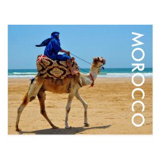 van de de ritkameel van Marokko Arabisch de Briefkaart