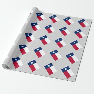Van de de staatsvlag van Texas van de douane het Inpakpapier