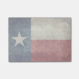 Van de de staatsvlag van Texas vintage retro de Post-it® Notes