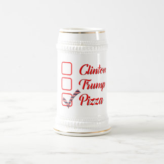 van de de troef grappige pizza van stemHillary Bierpul