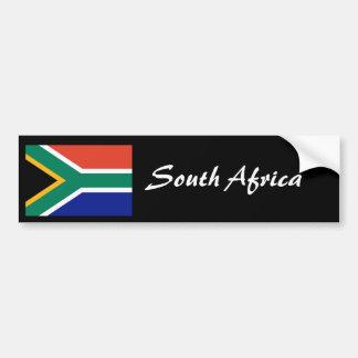 Van de de vlagbumper van Zuid-Afrika sticker 2 Bumpersticker