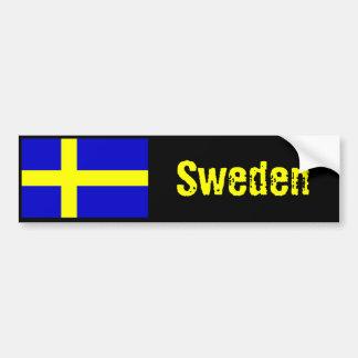 Van de de vlagbumper van Zweden sticker 2