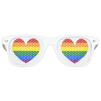 Van de de vlagliefde van de regenboog van het het retro zonnebril