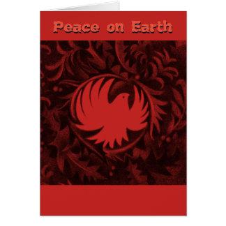 Van de de vredesduif van William Morris-style Briefkaarten 0