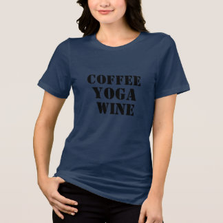 van de de wijn grappige koffie van koffieypga de t shirt