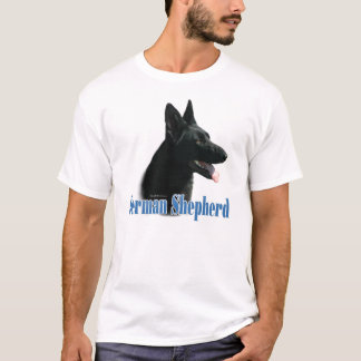 Van de Duitse herder (de zwarte) Naam T Shirt