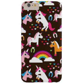 van de eenhoornregenboog kinder paard als barely there iPhone 6 plus hoesje