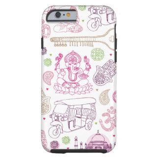 Van de ganeshayoga van India de kunstiPhone 6 Tough iPhone 6 Hoesje