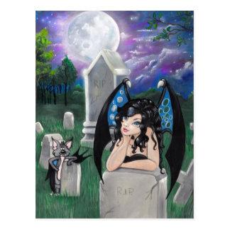 """Van de """"gotische Middernacht"""" het briefkaart"""