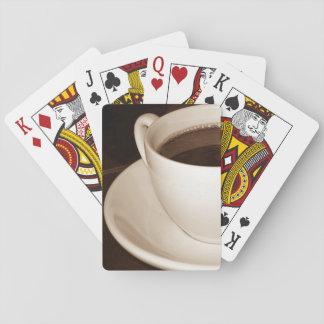 Van de Helft van enkel een van de Kop koffie Speelkaarten