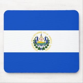 Van de het land lang vlag van El Salvador de Muismat