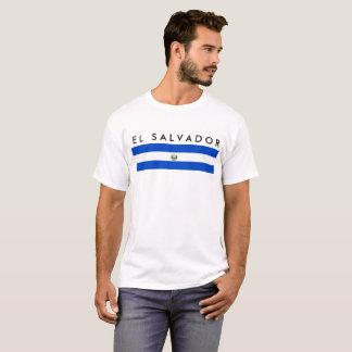 van de het land lang vlag van El Salvador de T Shirt