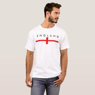 van de het landvlag van Engeland het lange symbool T Shirt