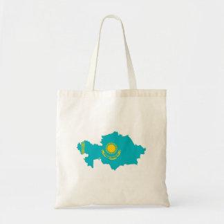 van de het landvlag van Kazachstan het symbool van Draagtas