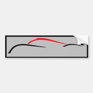 Van de het prototyperaceauto van Le Mans de Bumpersticker