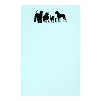 Van de het rassengroep van honden van het het flyer 14 x 21,6 cm