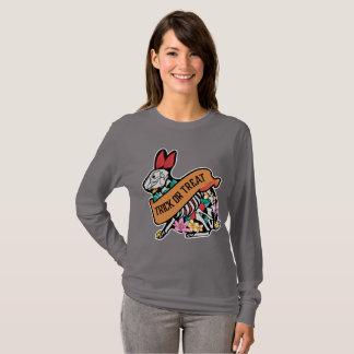 Van de het skeletBloem van het konijn het blad T Shirt