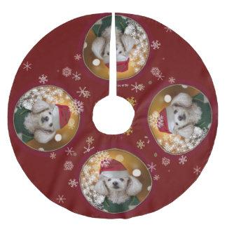 Van de het speelgoedpoedel van Kerstmis de rok van Kerstboom Rok