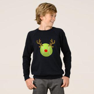 van de het tennisT-shirt van het balrendier Gift Sweater