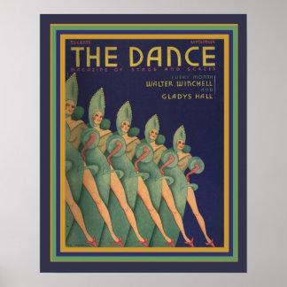 Van de het tijdschriftDekking van de Dans Poster
