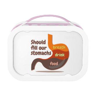 Van de het voedseldrank van magen Lunchbox van de