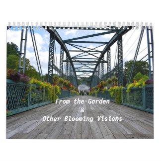 Van de Kalender van de Muur van de Tuin