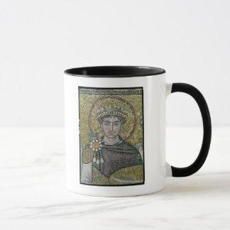 Van de keizer Justinian I c.547- ADVERTENTIE Mok