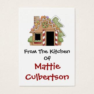 """""""Van de Keuken van"""" Kaarten door SRF Visitekaartjes"""