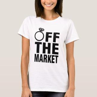 Van de marktring Gepersonaliseerde Bruid T Shirt