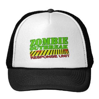 van de meisjes undead zombieën van zombiekerels trucker pet