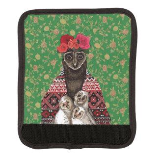 Van de moederdrietallen van de uil de uilbabys bagage handvat beschermer