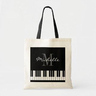 Van de pianosleutels van de douane het bolsazak budget draagtas