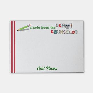 Van de school Adviseur Aangepaste post-it®- Nota Post-it® Notes