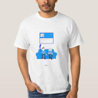 Van de Sociale T-shirt van het Net
