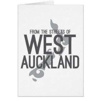 Van de Straten van West-Auckland Briefkaarten 0