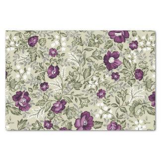 Van de Viooltjes van Bloemen Blad Bloemen paarse Tissuepapier