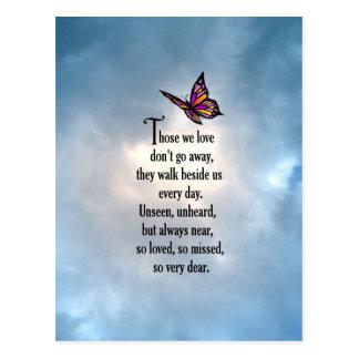 """Van de vlinder """"zo van het Gehouden"""" Gedicht Briefkaart"""