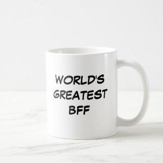 """""""Van de wereld"""" Mok Grootste BFF"""