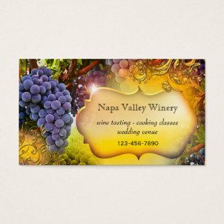 Van de wijnmakerij of van de Wijngaard Het Visitekaartjes