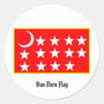 Van Dorn Flag Sticker