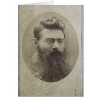 Van Edward (Ned) de Hoed, leeftijd 25 Wenskaart