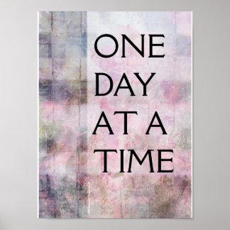 Van één Dag tegelijkertijd (ODAT) het Geweven Poster