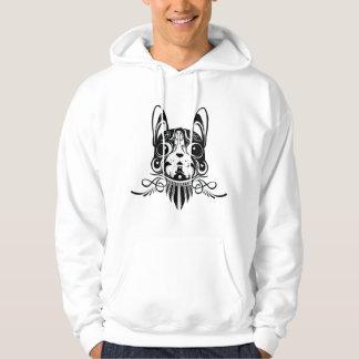 van een hond hond puppystyle sweatshirt met een