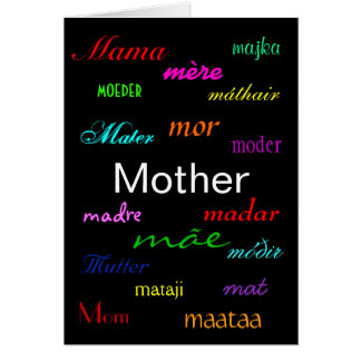 """Van een """"moederdag"""" de Kaart"""