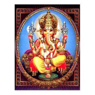Van Ganesha (गणेश) de Indische Olifant Briefkaart