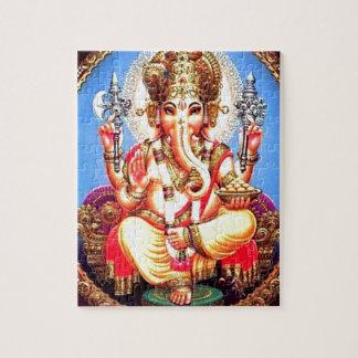Van Ganesha (गणेश) de Indische Olifant Legpuzzel