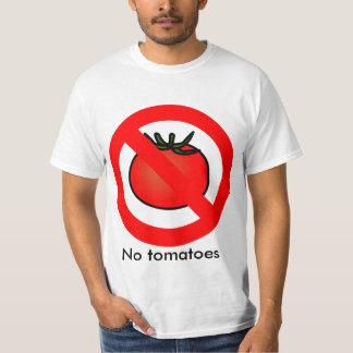 """Van """"geen Tomaten"""" het Overhemd T Shirt"""