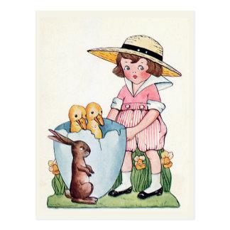 """Van """"gelukkige Pasen"""" de Wijnoogst Briefkaart"""