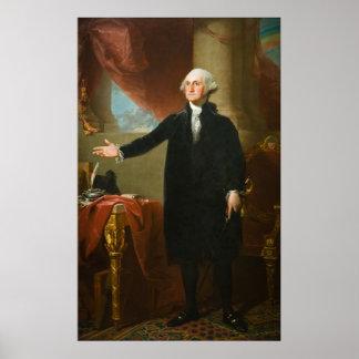 """Van George Washington het """"Lansdowne"""" Portret Poster"""