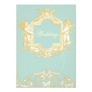Van Georgiana (Marie Antoinette Blue) het Huwelijk Kaart